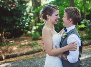 outdoor Oregon wedding