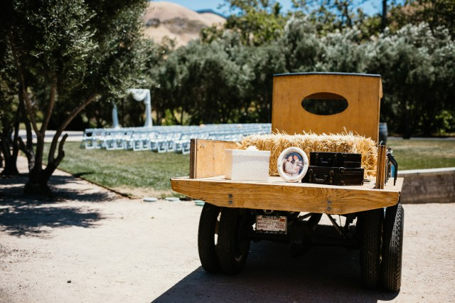 rustic California wedding