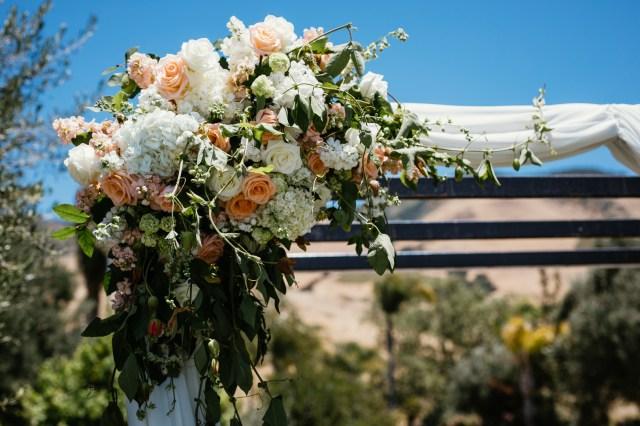 rustic California wedding