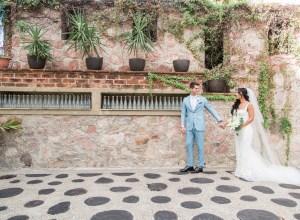 white destination wedding