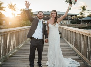 Florida beach-inspired wedding