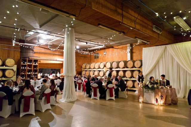burgundy winery wedding