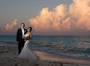 Persian beach wedding