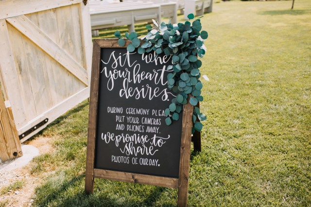 French chic farm wedding