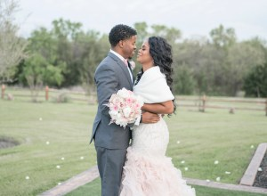 elegant blush wedding