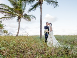 navy Florida wedding