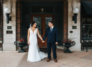 summer Iowa wedding