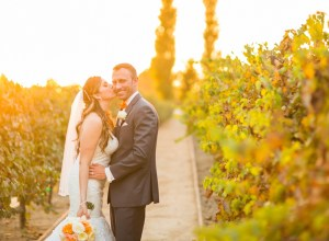 California autumn wedding