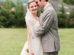 blush mountain wedding