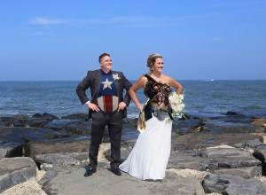 nautical superhero wedding