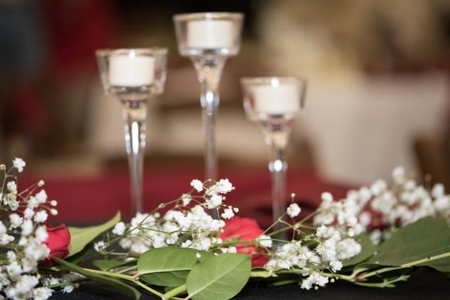classic red wedding