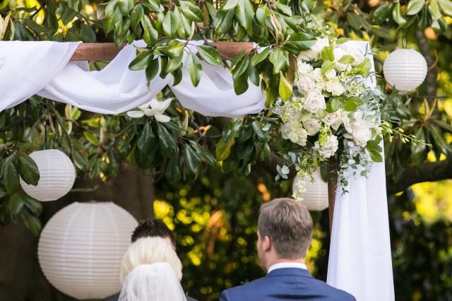 traditional blue wedding