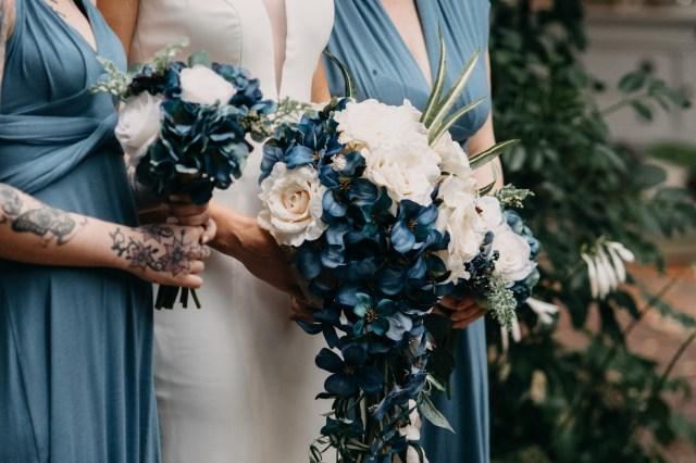 speak easy garden wedding