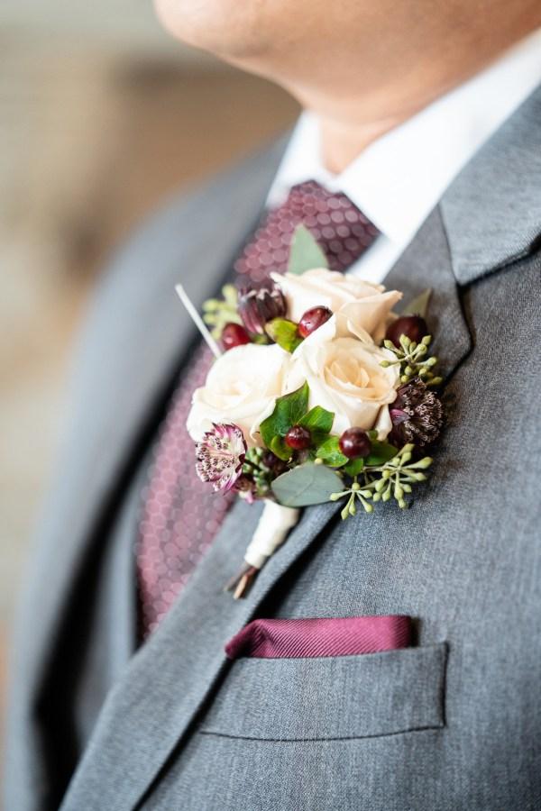rustic modern wedding