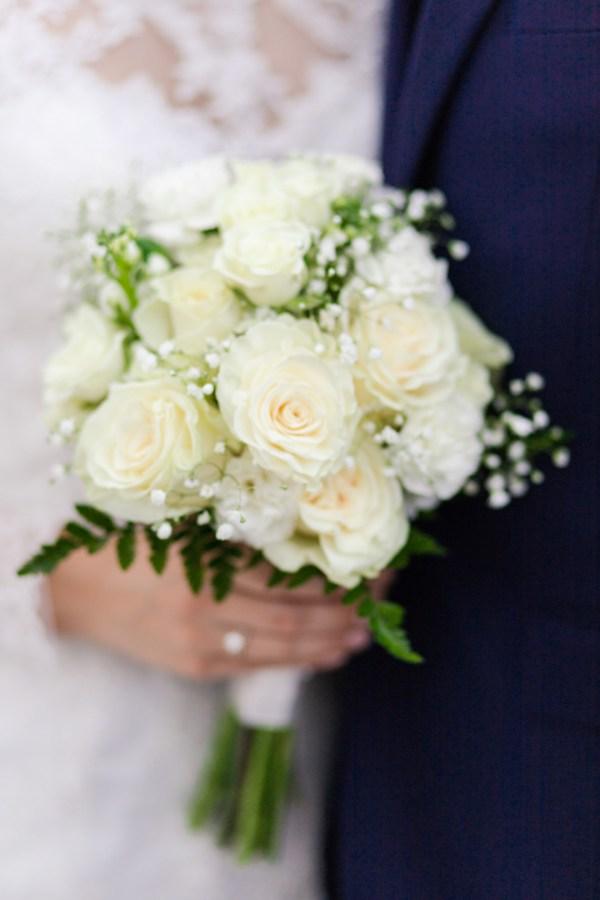 intimate classic wedding