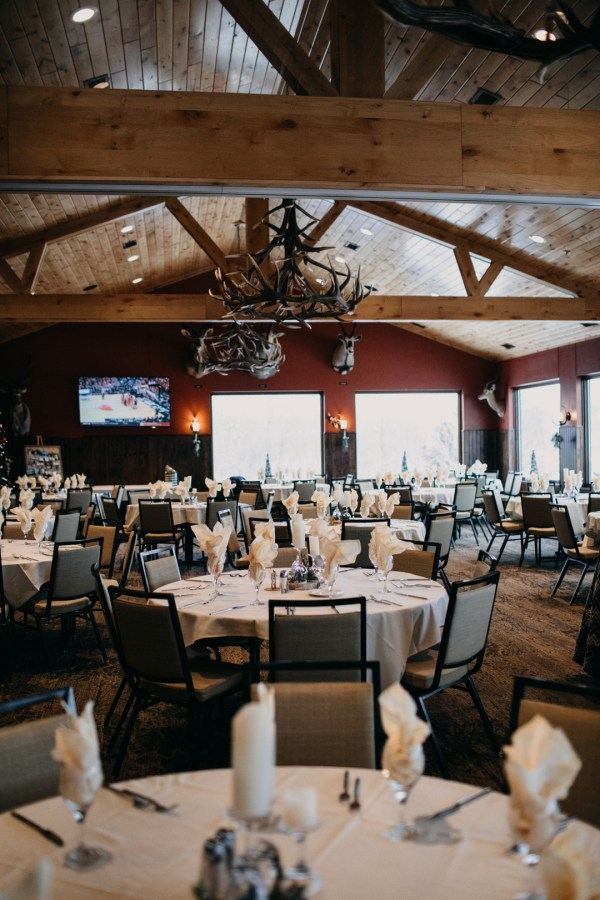 Minnesota winter wedding