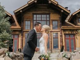 mountain lodge wedding