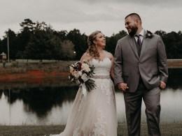 moody Georgia wedding
