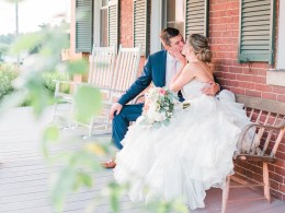 romantic summer wedding