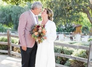 California vineyard wedding