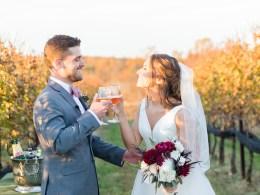 rustic winery wedding