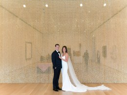 Chicago museum wedding