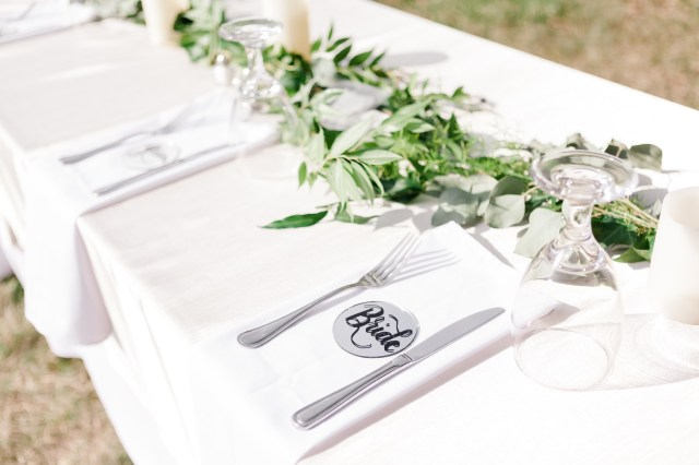 outdoor estate wedding