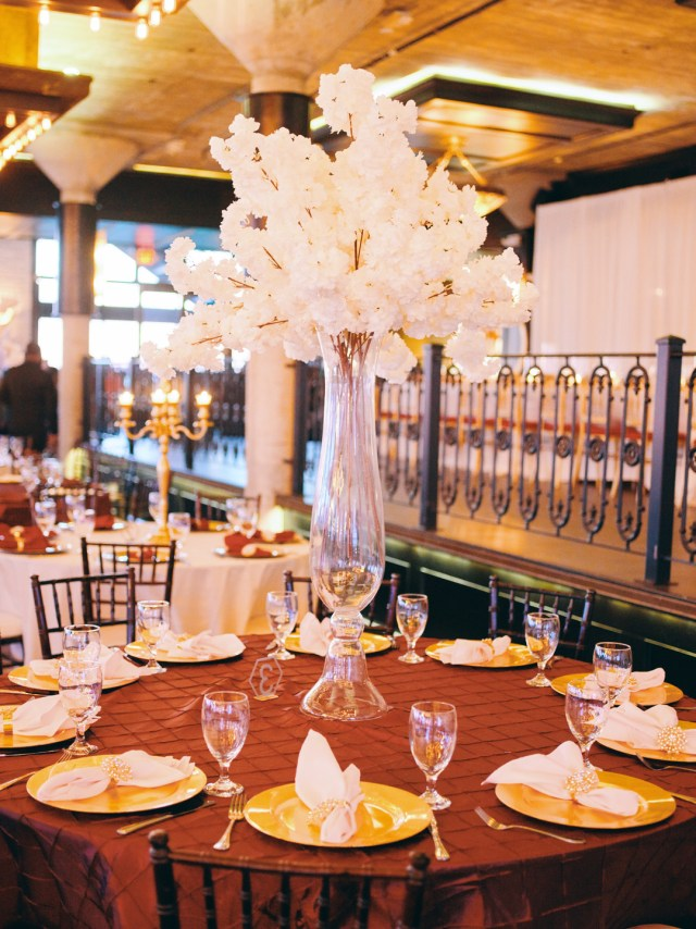 luxury gold wedding