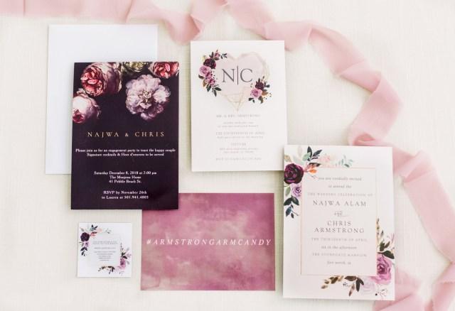 pink mansion wedding