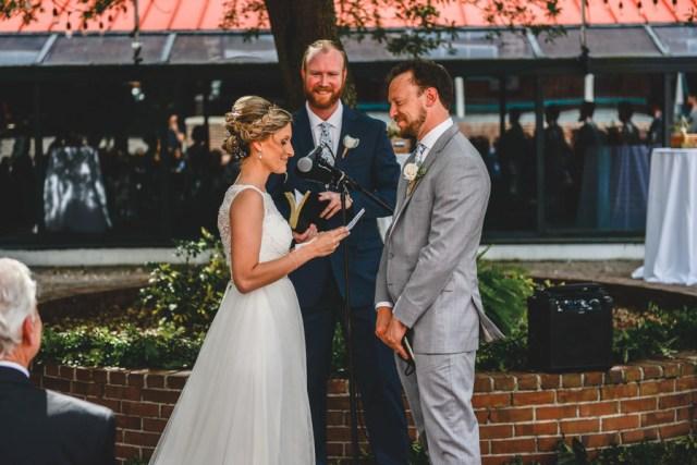blue Florida wedding