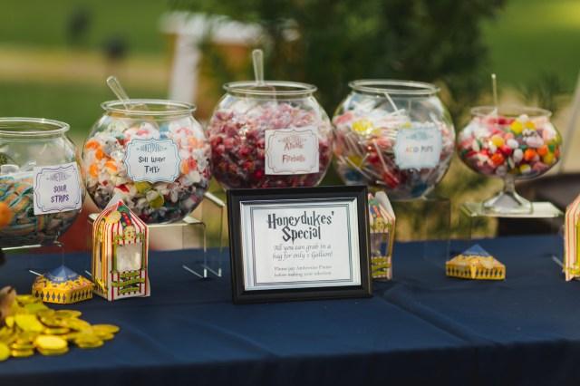 Harry Potter garden wedding