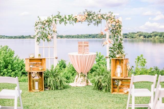 modern Dallas wedding