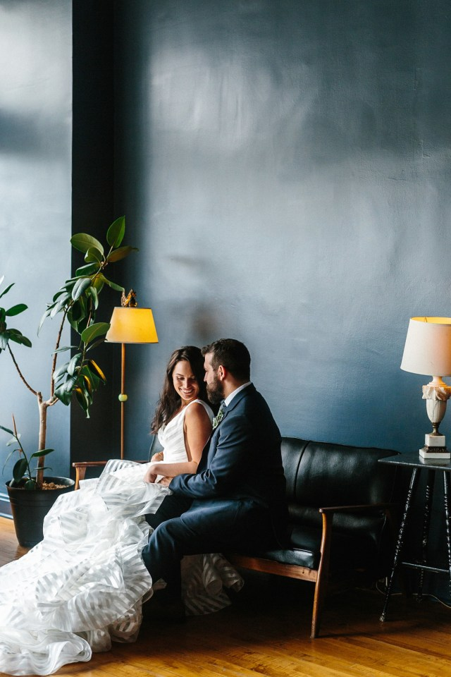 modern Ohio wedding