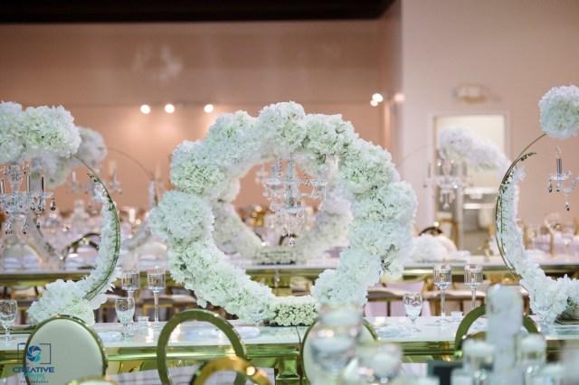 luxury ballroom wedding