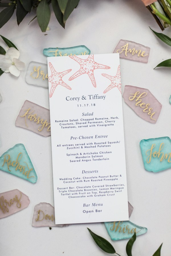 Florida aquarium wedding