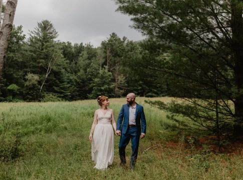 eclectic vintage wedding