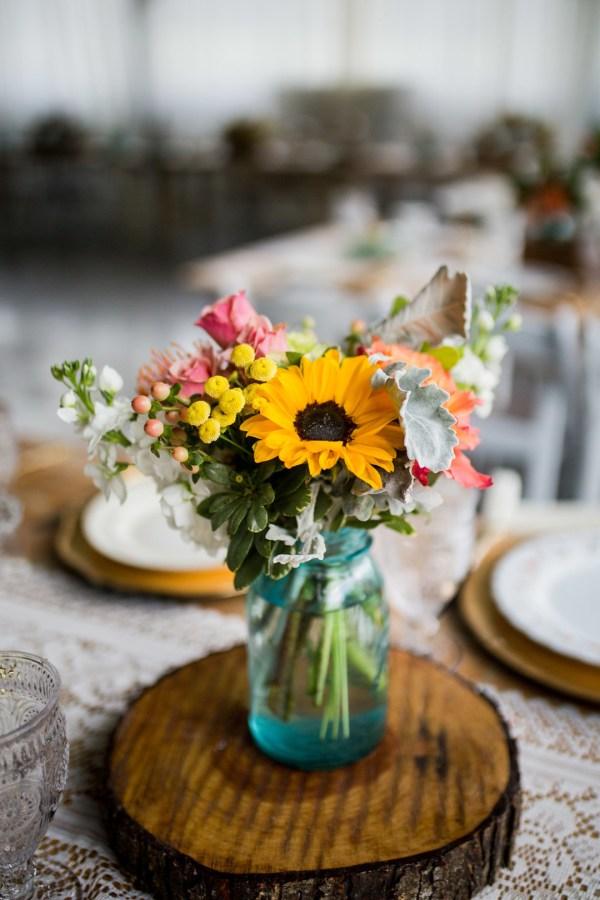 rustic vintage wedding
