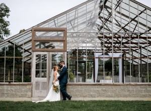 Ohio greenhouse wedding