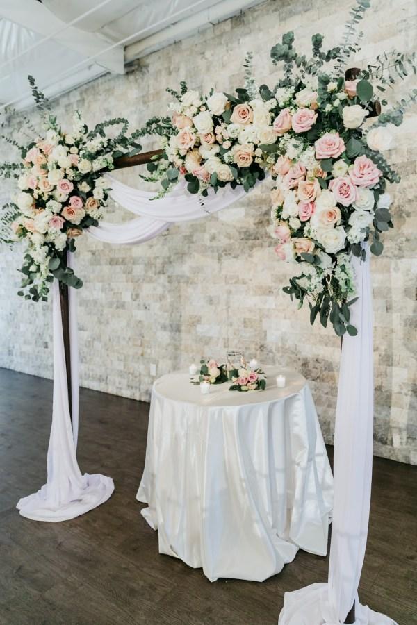 contemporary California wedding