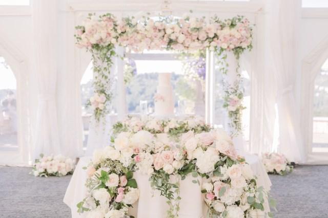romantic outdoor wedding