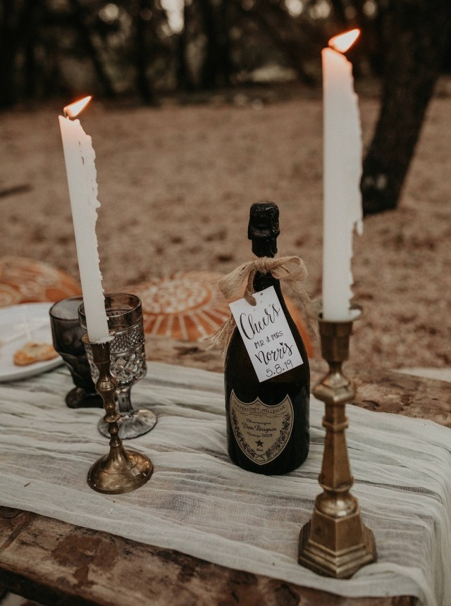 boho elopement wedding