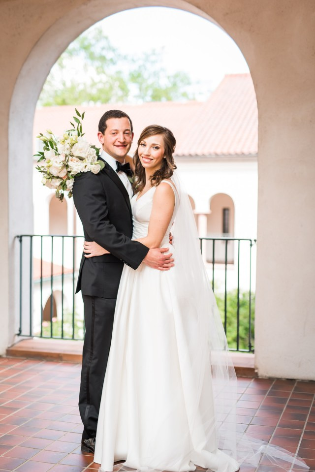 spring Houston wedding