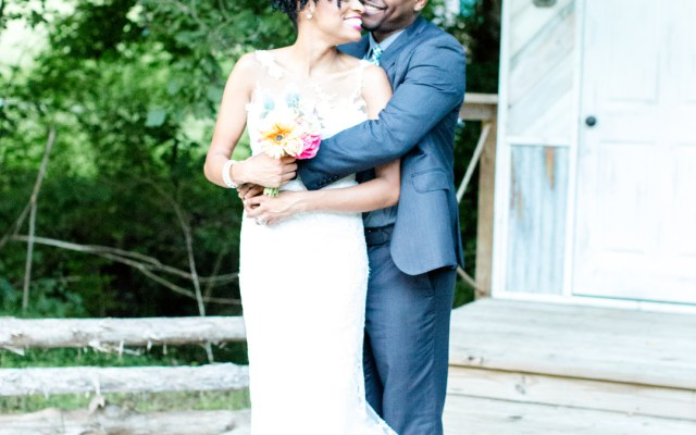 rustic Tennessee wedding
