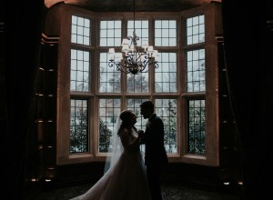 elegant winter wedding