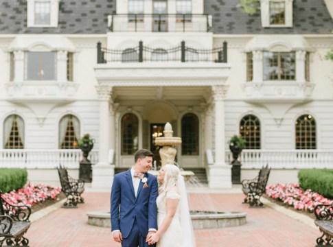 classy estate wedding