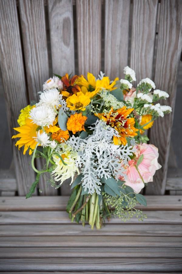 DYI botanical wedding