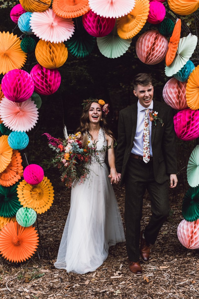 Haiden and Joshua's Colorful Fall Wedding