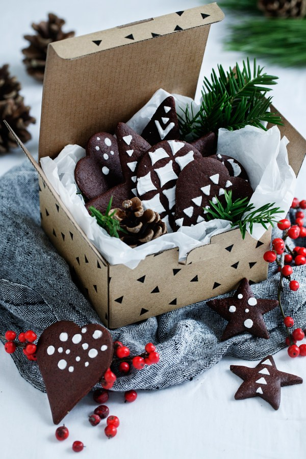 Chocolate Gingerbread Cookies Modern Wifestyle