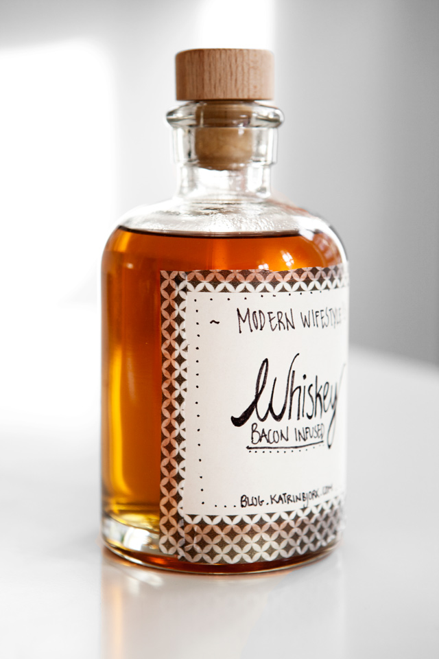 Bacon infused Whiskey  Modern Wifestyle