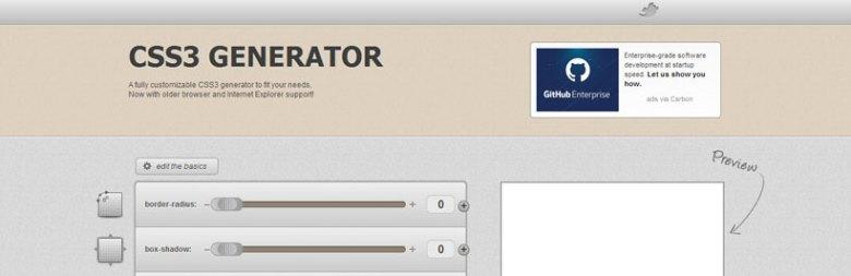 6 Mejor útil y de gran alcance CSS3 Generador